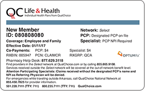 QualChoice Life and Health Member ID