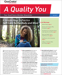 A Quality You Newsletter Fall 2017