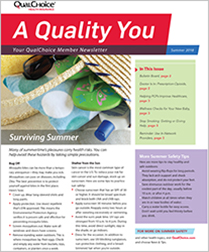 A Quality You Newsletter - Summer 2018