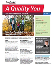 A Quality You Newsletter Fall 2018